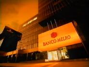 TN1 sponsorship billboard - Banco Melro - 1999