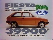 Ford Fiesta Bravo RN TVC 1987