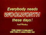 Woolworth AS TVC 1980