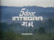 Honda Integra GH TVC 1985