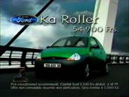 Ford Ka Roller RL TVC 1998