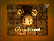 Disney Channel ID - Temple (1999)