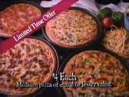 Pizza Hut 4 Dollar Pizza Deal URA TVC 1991 - Part 3