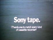 Sony Tape AS TVC 1980