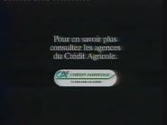 Crédit Agricole TVC 1990