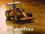 Fisher Price 2 Speed Radio Controlled Racer TVC 1994