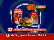 Quick Long Bacon and Long Cheese RL TVC 1998 2