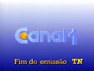 Canal 1 de TN - Fim de Emissao - 1990