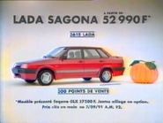 Lada Sagona RLN TVC 1991