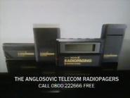 Anglosovic Telecom Radiopagers AS TVC 1986
