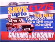 Grahams of Dewsbury AS TVC 1985