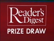 Readers Digest Prize Draw AS TVC 1983