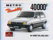 Metro Piccadilly RLN TVC 1990