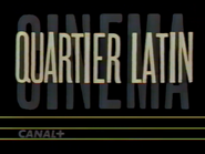 Canal Plus bumper - Quartier Latin - 1992