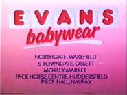 Evans Babywear AS TVC 1985