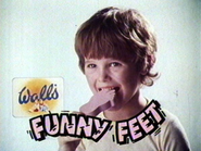 Wall's Funny Feet AS TVC 1981
