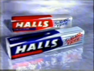 Halls Sugar Free ad 1995