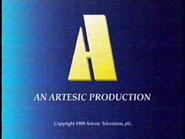Artesic Production endcap 1989 - alt