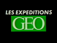 C Plus bumper - Les Expeditions Geo - Early 1995