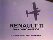 Renault 11 AS TVC 1984