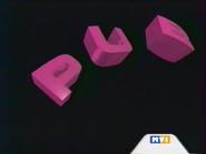 MV1 ad ID - Clock - purple - 2000