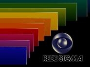 Rede Sigma - sign-off slide 1983