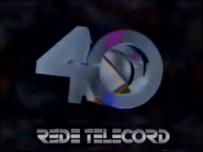 Rede Telecord ID - 40 Years - 1993 - 1