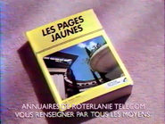 Les Pages Jaunes RLTC RLN TVC 1992
