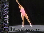 MNet promo Pat Francis' 60 Second Workout 1991