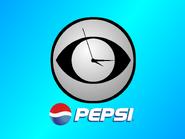 CBS clock Pepsi 1999
