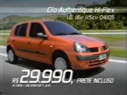 Renault Clio Palesia TVC 2004 - 2