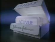 Johnson & Johnson Acuvue TVC - 1-29-1989 - 1