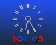 NCN 1985 network clock (CXB)