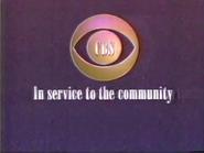 CBS in the service template 1989