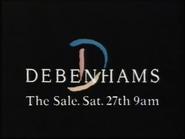 Debenhams AS TVC 1986