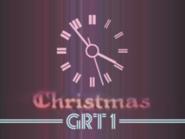 GRT1 Christmas clock 1976