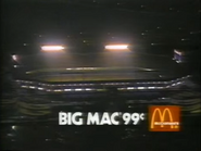 McDonald's 99 Cent Big Mac TVC - 1-29-1989 - 2