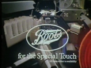 Boots AS TVC 1981