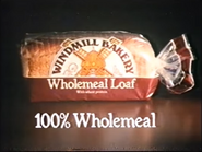Windmill Bakery Wholemeal Loaf AS TVC 1985