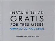 AOL URA Spanish TVC - 2000 - 2