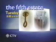 CTV promo - The Fifth Estate - 1987