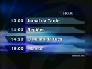 TN1 schedule bumper - February 3, 2003