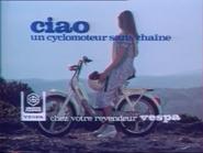 Vespa Ciao RLN TVC 1980