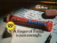 Cadbury's Fudge AS TVC 1982