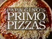 Papa Ginos Primo Pizzas TVC 1994 1