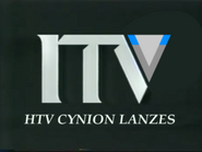 HTV Cynion Lanzes 1993 ITV ID