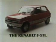 Renault 5 GTL AS TVC 1978