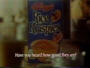 Kelloggs Rice Krispies AS TVC 1977