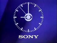 CBS clock - Sony - 1984