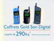Bouygues Telecom Coffrets Gold Son Digital RL TVC 1998